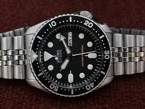 PRE-OWNED SEIKO SCUBA DIVER 7S26-0020 SKX007K2 AUTOMATIC MEN'S WATCH 841816