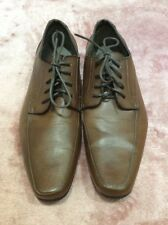 Bnwot Cedar Wood State Mens Tan Leather Lace Up Shoe Size 9.