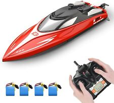 Deerc 2.4 Ghz H120 Rc Boats Capsize Recovery 20+ mph Racing Boats Best Xmas Gift