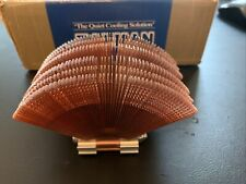 USED ZALMAN FANLESS CPU COOLER CNPS6000-CU WITH BOX AND FITTINGS