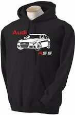 Felpa per auto Audi RS 6 hoodie sweatshirt car hoody Hooded sweater