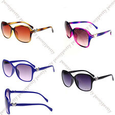 stylish silver butterfly design women sunglasses 100% UV protection