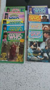 Classic Doctor Who Marvel Monthly  1980 Vintage Comics issues 44 to 56