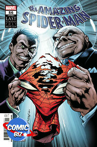 AMAZING SPIDER-MAN #56 (2021) 1ST PRINTING MAIN COVER MARVEL COMICS ($4.99)