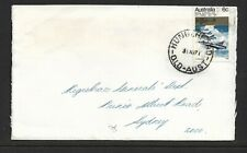 Postmark Hungerford 1971 QLD on Cover.