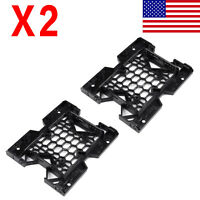 2PCS 2.5/3.5 to 5.25 Drive Bay Case Adapter SSD HDD Fan Mounting Bracket For PC