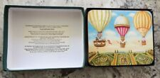 Boxed Set of 4 Lady Clare Hot Air Balloon  Laminate Heat Resistant Coasters