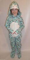 PRIMARK GIRLS or BOYS KIDS ALL IN ONE SLEEP SUIT PYJAMAS ROMPER AGE 2-13
