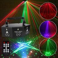 9-Eye Fernbedienung LED RGB Stage Licht Beleuchtung Laser Strobo Disco Dj Ktv