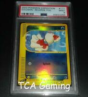 PSA 9 MINT Goldeen 111/165 Expedition Base Set REVERSE HOLO Pokemon Card