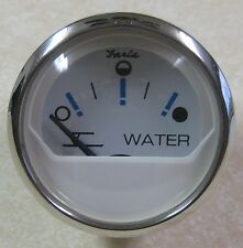 Faria Chesapeake SS White Boat Water Level Gauge GP9780A