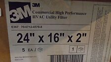 Free Ship, 5 Count Case, 3M E367 70-0712-4576-8, Commercial HVAC Utility Flters