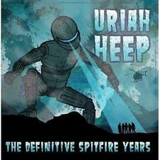 Uriah Heep The Definitive Spitfire Collection CD NEW SEALED
