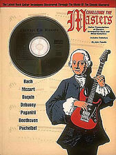 Challenge The Masters Learn to Play Metal Rock Guitar TAB Music Book & CD