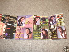 Western Flyer Signed Tape Case Cover Photo x All 6