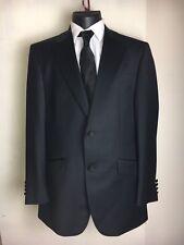 Racing Green Men's Black Tuxedo Suit. Jacket Size 40 Waist Size 44