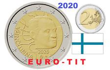 FINLANDE  2  EURO   COMMEMORATIVE     VAINO   LINNA    2020   /   2020 NOUVEAU