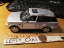 SILVER RANGE ROVER SPORT SUV 1/38 SCALE ROLL BACK ACTION - LOOSE! NO BOX!