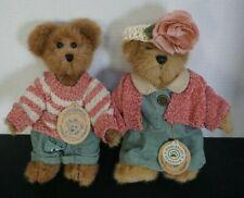 "Vintage Boyds Bears & Friends 6"" Edmund T. Bear & Bailey Bear - #9199"