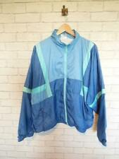 Vintage Shell Suit Jacket Top Festival Tracksuit Windbreaker 80s/90s XL #D5804