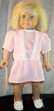 """Doll Clothes Made2Fit American Girl 18"""" Project Runway """"Art Nouveau"""" Dress Peach 00004000"""