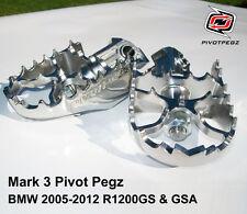 NEW PIVOT PEGZ for BMW R1200GS & GSA (2005-2009, 2010, 2011, 2012) + FREE BONUS