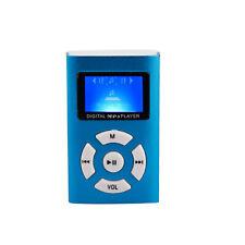 Bis 32GB Mp3 Player mit LCD Akku Mini Clip Musik Metall Micro SD Zubehörpaket