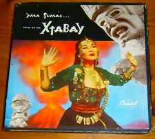 Yma Sumac: Voice Of The Xtabay '50 USA 1st press 4 x 45 rpm Box set