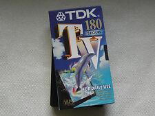 VHS 2 USATO e-180 CASSETTE TDK