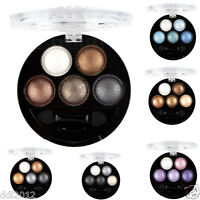 5 Color Matte Eyeshadow Palette Shimmer Eye Shadow Highlight Cosmetic Makeup Set