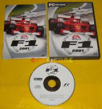 F1 2001 Pc Versione Ufficiale Italiana Formula 1 »»»»» COMPLETO