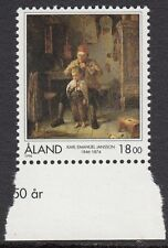 ALAND : 1996 Anniversary of Karl Jansson (artist) SG 112 never-hinged mint