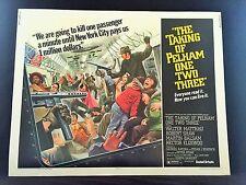 Original 1974 THE TAKING OF PELHAM ONE TWO THREE Half Sheet Movie Poster 22 x 28
