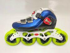 Speed Skate Trurev Smoke Em. Size 4.5. 90mm Wheels
