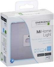 Energenie MiHome Light Retrofit Single Wall Switch With Remote And App Control