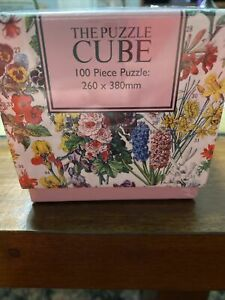 Vintage Flowers 100 Piece Jigsaw | Brand New | The Puzzle Cube
