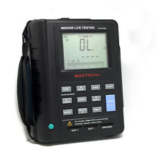 MS5308 Portable Handheld LCR Meter RS232 100Khz fit FLUKE dual display UK ship r
