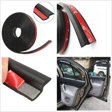 "4M 160"" Car Truck Motor Automobiles Door Z-Shape Rubber Seal Weather Strip Black"