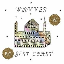 "Wavves/Best Coast Split 7"" Vinyl Record & MP3! non lp songs! nirvana cover! NEW!"
