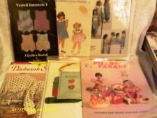 Misc Canvas, Quilted Books, Duplicate Stitch, etc Collection