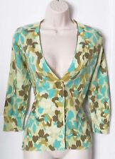 Hip Length Scoop Neck Floral Jumpers & Cardigans for Women