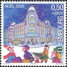Luxembourg 2005 Christmas/Greetings/Shop/Shoppers/Animation 1v (lu10155)