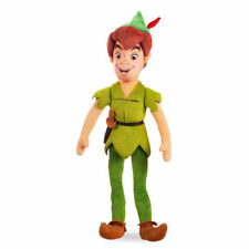"""RARE Disney Store Peter Pan 20"""" Authentic Plush doll stuffed toy Wendy NWT Movie"""