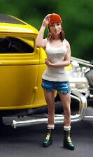 24028 American Diorama Hot Rodder Nancy, 1:24, neu, neu 2016 neu, neu