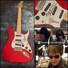 GFA Marky and C.J. Ramone * THE RAMONES * Signed Electric Guitar PROOF AD3 COA