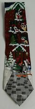 Looney Tunes Christmas Silk Neck Tie Nwt