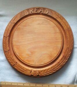 Bramhall Woodware Round Bread Board