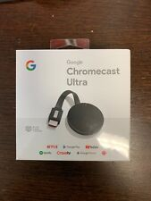 Google Chromecast Ultra Brand new in the box 2018 new packing