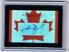 15-16 2015-16 ANTHOLOGY CAM WARD HOME AND NATIVE LAND CANADA AUTOGRAPH /261 CANE