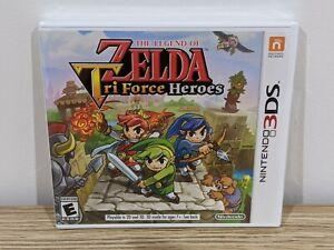 NEW/SEALED The Legend of Zelda Tri Force Heroes (Nintendo 3DS, 2015) US-NTSC